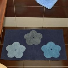 Covoras de baie Hippy bleumarin Decor, Bath, Rugs, Bath Mat, Mats, Home Decor