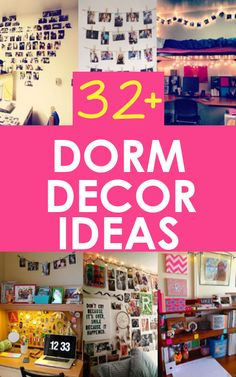 Decorating your dorm room is probably the most exciting part about venturing off to college. You have your own new space to decorate however you want. New color schemes and patterns, fun new furniture and coolways to stay organized. Whether you're in a...