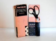 Wiss Pinking Shears with Original Packing Sewing Scissors