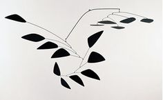 Alexander Calder mobile sculptures - The Y Retrospective Rome Calder