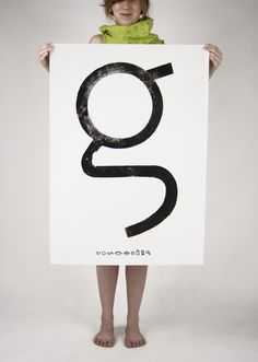 My favorite letter. and this proves why. The letter g : Tótfalusi Sans Serif - ciladesign Typography Served, Cool Typography, Graphic Design Typography, Letter Art, Sans Serif, Type Design, Logo Inspiration, Poster Prints, Posters