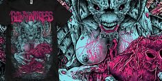 """SCYLLA"" t-shirt design by burntilldead"