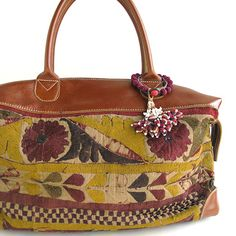 Risi e Bisi - bag made with vintage Indian textiles
