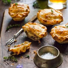 Best Homemade Mini Beef Meat Pie: These little morsels of deliciousness make great use of a leftover roast meal.