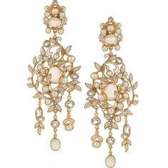 Percossi Papi Earrings Fall 2014 #Bridal LoveMySwag.com