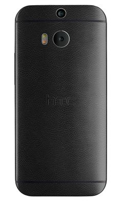 Innovation and style collide with Slickwraps Black Leather for the HTC One (M8)!  #leather  #slickwraps #htcone8