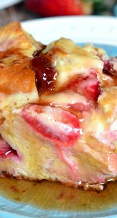 Strawberry Cheesecake French Toast Casserole
