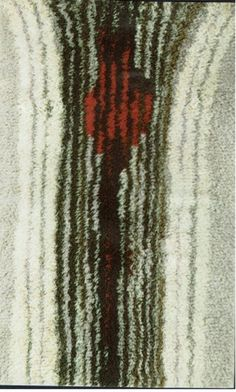 Rya Rug, Mid Century Rug, Textiles, Rug Hooking, Textile Art, Art Inspo, Weaving, Cool Stuff, Rugs