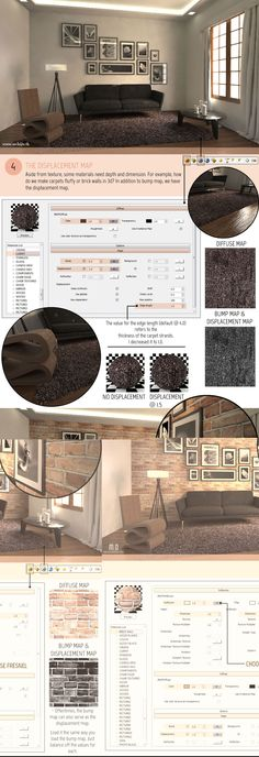 SketchUp Tutorial Part 2: VRAY MATERIALS AND TEXTURES Full Article At http://www.architecturedesign.tk/2014/12/sketchup-tutorial-part-2-vray-materials_18.html