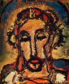 Georges Rouault, Volto di Gesù