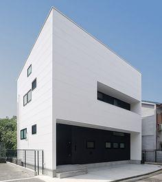 'White house', Japan, L.D. Homes