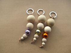 A Spoonful of Crafts: Lav dine egne nøgleringe / Make Your own keyrings