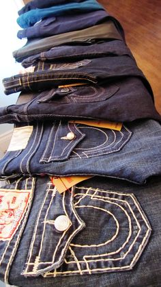 How to Care For Premium Denim: Featuring True Religion - Dope Outfits For Guys, Cute Outfits, True Religion Jeans Men, Swag Style, My Style, Fashion Corner, Jeans Brands, Swagg, Jeans Style