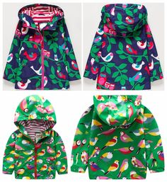 Girls clothing child windproof waterproof outdoor jacket outerwear trench summer thin Girl Jackets Coat Spring, Summer, Fall. #Affiliate