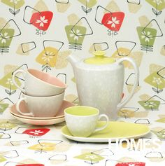 Vintage Spring colours - Poole Pottery