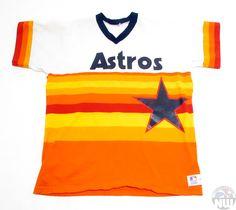Vintage Houston Jersey | Retro Astros Baseball T-Shirt