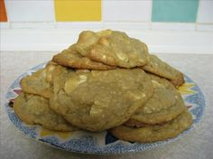 Tropical Key Lime White Chocolate Macadamia Nut Cookies from Food.com  Enjoy a sweet and sultry variation on the standard (yet always fantastic) white chocolate chip/macadamia nut cookie. People will go nuts for these! White chocolate chips aren't really available here in the United Kingdom so I chopped up some good quality Cadbury's white chocolate instead. Back at home in the States it was always so easy to find a bag of white chocolate chips in pretty much any grocery store, but n...