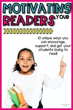 Looking for some tips and strategies for motivating your elementary readers? This blog post is full of ideas and strategies for helping your struggling readers learn to love reading! Click the pin to learn these unique strategies!