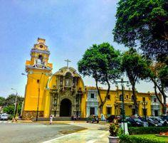 Iglesia matriz de Barranco, Lima - Perú