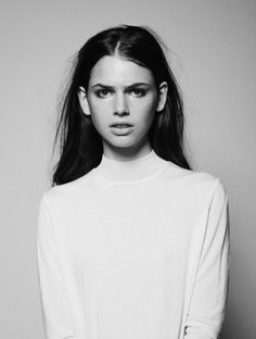 Chic Minimal Style - clean white dress, minimalist fashion