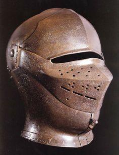 Medieval Helmets, Medieval Armor, Medieval Fantasy, Arm Armor, Body Armor, Types Of Armor, Awsome Pictures, Helmet Head, Neck Bones