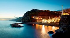 A view of the Hotel da Vila, in the village of Ponta do Sol, on Portugal's Madeira Island (From: 26 Gorgeous Hotels You Won't Believe Are Under $150)