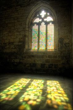 sunbeams & stained glass
