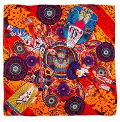 Mascada Bailes Tradicionales Naranja