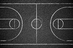 A Detailed Diagram of the Basketball Court | Pinterest ...