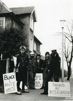 euxinus: Members of the Clash, Steel Pulse, and Sex Pistols, 1977, Rock Against Racism.