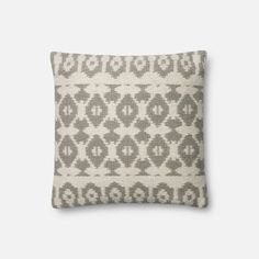 With a pattern inspired by traditional Nordic sweater motifs and a cotton/poly/wool-blend construction designed for daily use, the Emmie Kay Pillow is perfect for living rooms, home offices and more. Part of the Magnolia Home Collection by Joanna Gaines.