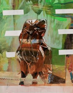 #Tanja Maria Ernst - #painting #contemporary art #horse