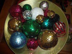 Bolas de Navidad artesanas