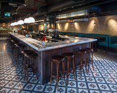 Vincent Cafe Cocktail Bar Liverpool Restaurant Interior Design
