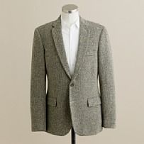 Herringbone sports jacket for the cooler winter weather by JCrew.com