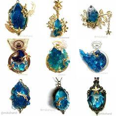 In Handarbeit gemachte Broschensternmond-Konstellationssterne stellar – Jewelry… – Todo sobre accesorios contigo Diy Jewelry Rings, Resin Jewelry, Cute Jewelry, Jewelry Art, Jewelery, Jewelry Accessories, Jewelry Design, Fashion Jewelry, Jewelry Making
