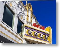 """Sold a 30.00"""" x 20.00"""" metal print of Atlanta Roxy Theatre to a buyer from Atlanta, GA - The Marquee of the old Roxy music venue - now the Buckhead Theatre"""