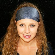 Running Headbands, Sports Headbands, Headbands For Women, Workout Headband, Yoga Headband, Wide Headband, White Husky, Athletic Headbands, Spandex