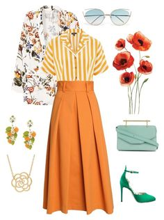 Designer Clothes, Shoes & Bags for Women Linda Farrow, Carolina Herrera, Lord & Taylor, Poppy, Mango, Topshop, Gucci, Polyvore, Stuff To Buy