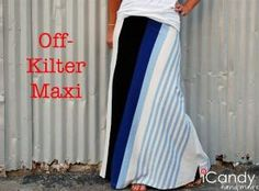 Maxi Skirt Pattern: icandy handmade: (Pattern) Everyday Basics 3: Maxi Mayhem by sheila.moose