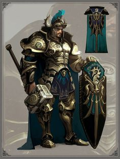 golden captain by *su-ke on deviantART