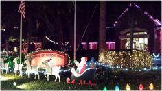 Check out the Hilton Head Island Firefighters Christmas Lights! #HiltonHeadIsland