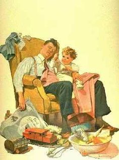 'The Babysitter'    - from http://freepages.nostalgia.rootsweb.ancestry.com/~parisho/kids.html