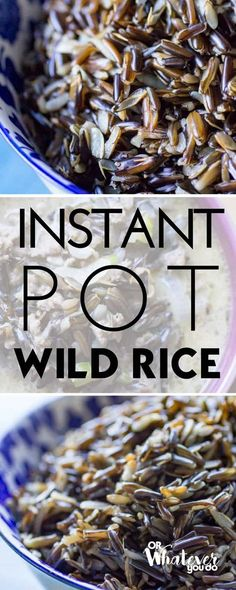 Wild Rice is one of my favorite foods, but I don't use it very often because it takes SO long to cook. Not anymore. Instant Pot Wild Rice cuts the cook time down AND produces the very best wild rice that I've ever had. Instant Pot Wild Rice Wild rice can either be really really...Read More »