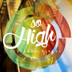 So High #lettering #poster #photoshop #high #weed #letter