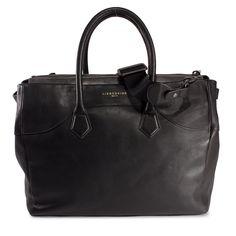 LIEBESKIND Handtasche Leder Foil Pull Up FREYA - black
