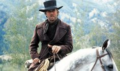 Clint Eastwood in Pale Rider, his directorial take on the classic Shane.