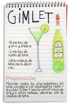 :D jeanclaudevolldamm: Gimlet Bar Drinks, Wine Drinks, Cocktail Drinks, Alcoholic Drinks, Cocktails, Long Drink, Gin Fizz, Bread Machine Recipes, Alcohol Recipes