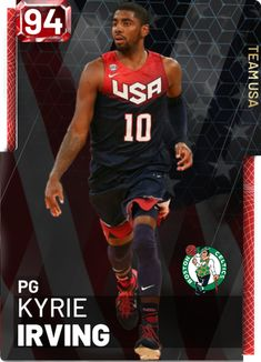 User created NBA Kyrie Irving card, made using the custom card creator Irving Nba, Kyrie Irving, Nba Sports, Sports Stars, Basketball Quotes, College Basketball, Nba Players, Basketball Players, Player Card
