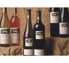 Packaging for Wente wines - You had white wine - Morning Fog
